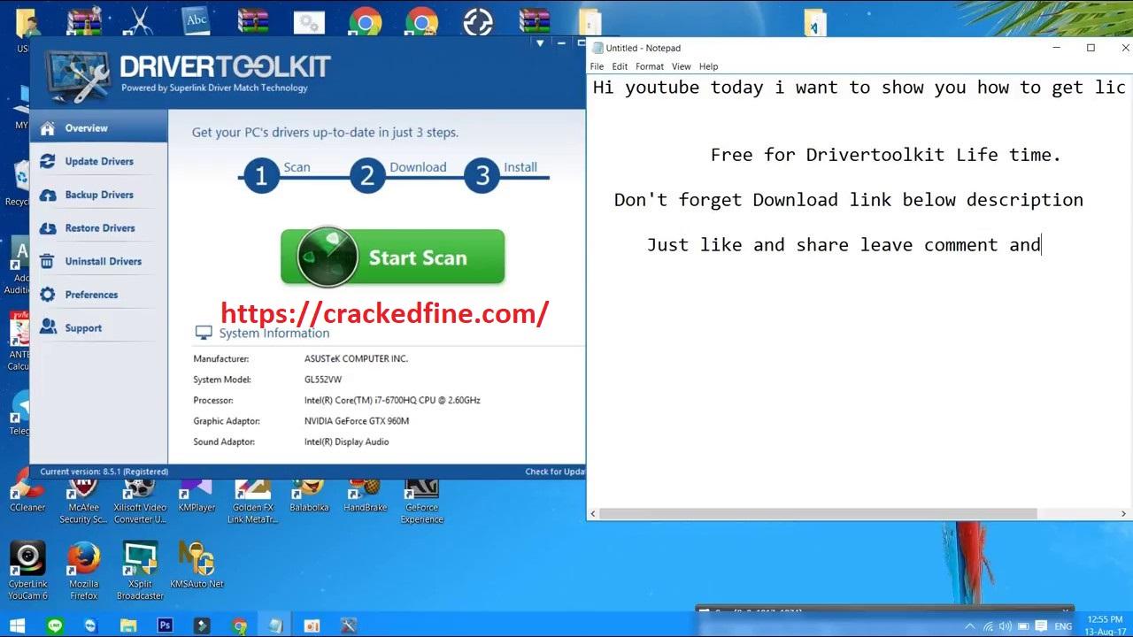 Driver Toolkit 8.6.0.1 Crack + License Key 2020 - cracked ...